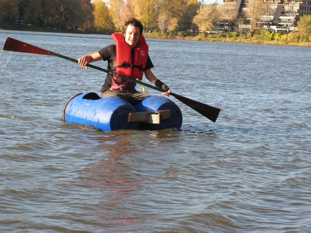 Как построить плот для сплава по реке своими руками фото 473