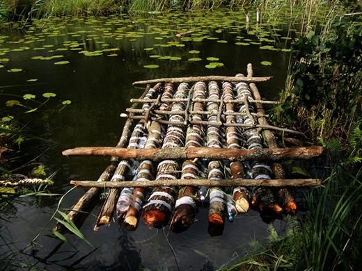 Как построить плот для сплава по реке своими руками фото 231