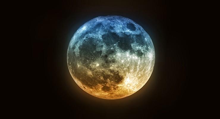 Правила ориентирования по луне без компаса