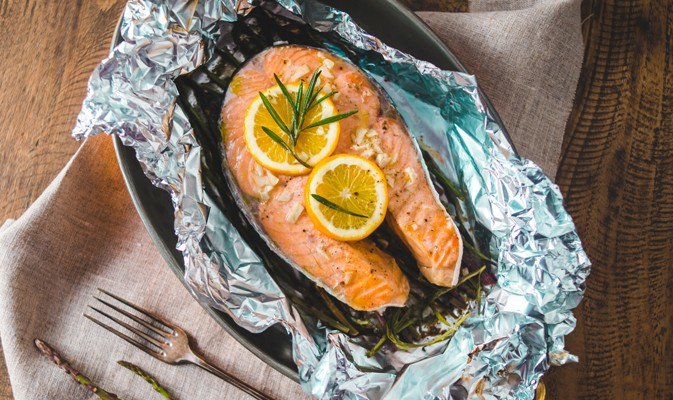 Блюда из рыбы на костре