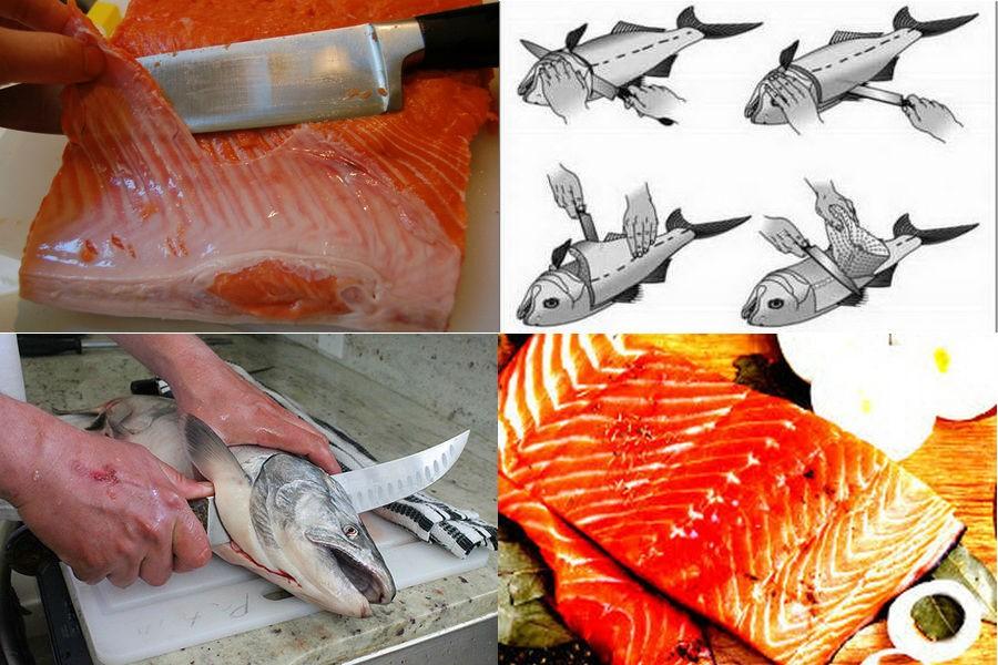 Картинки по разделке рыбы