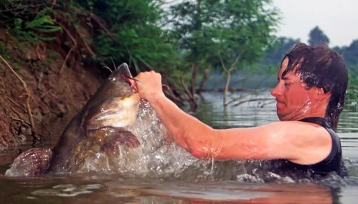 Ловля рыбы голыми руками: можно ли это осуществить