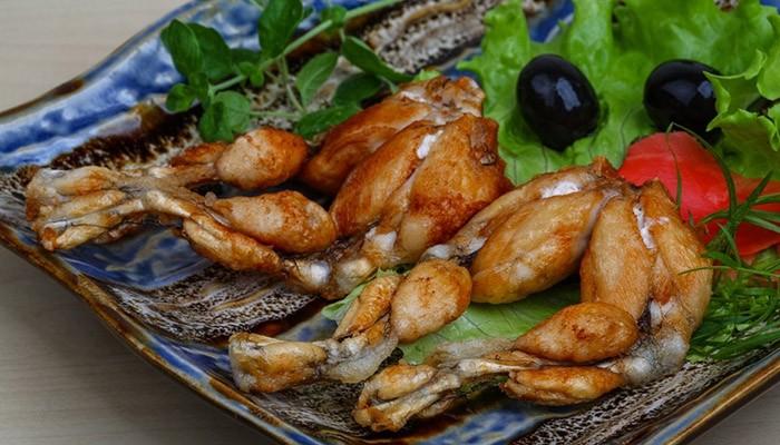 Рецепты приготовления пищи из лягушки