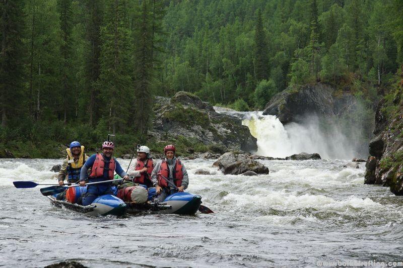 Сплавы по рекам Сибири