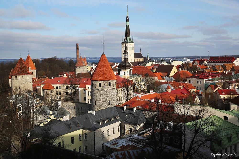 Старинный город Таллина