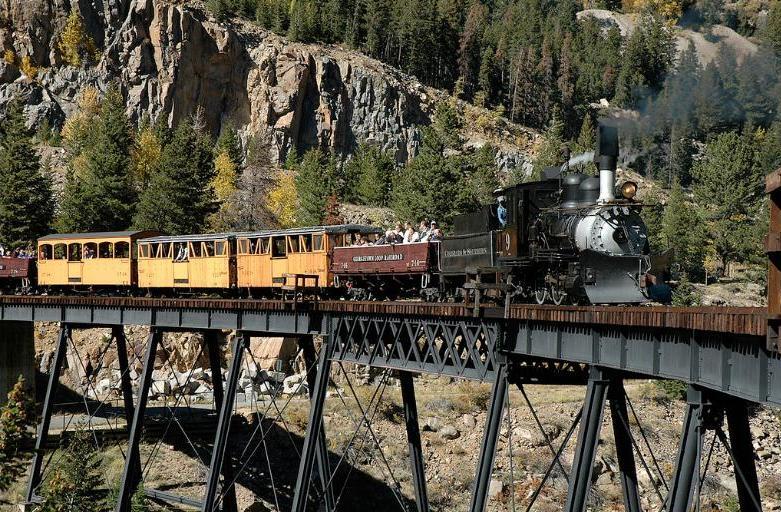 железная дорога в колорадо