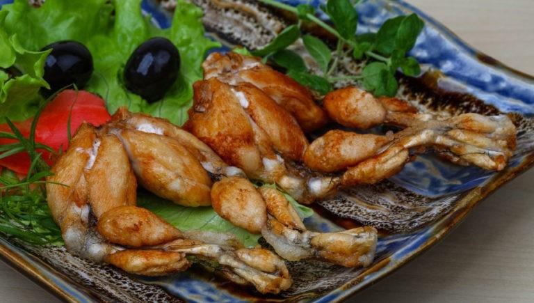 Рецепты приготовления лягушек