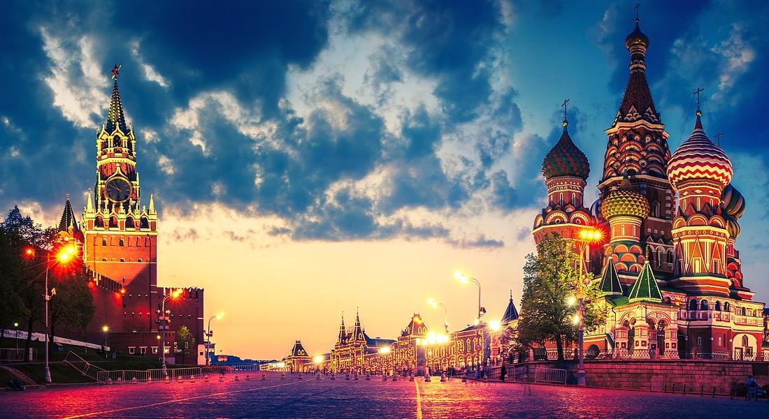 Самые красивые места в Москве