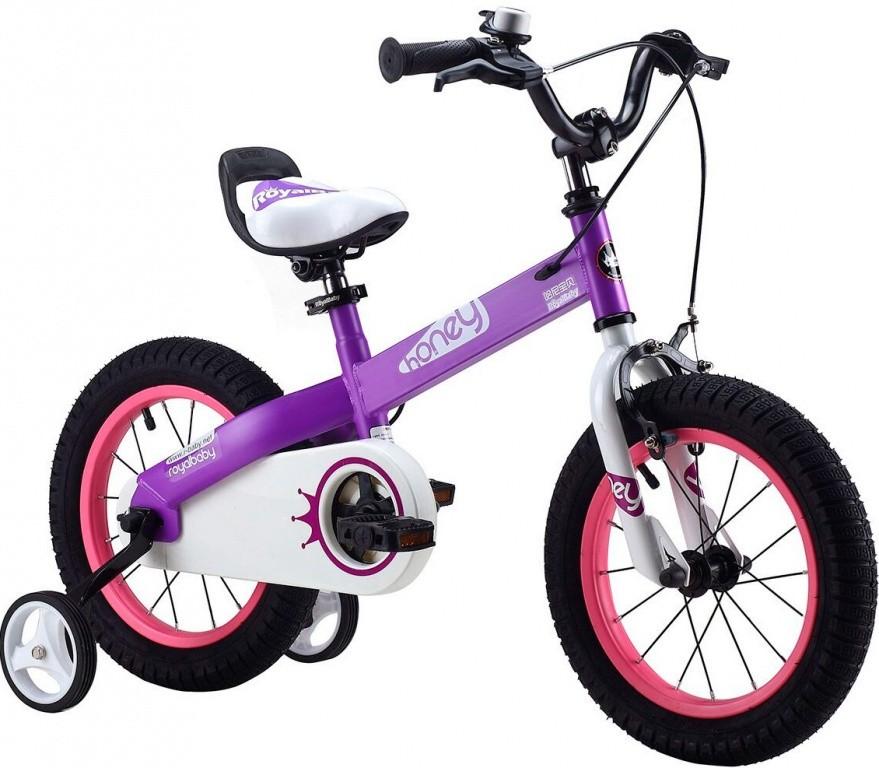 двухколесный велосипед со страховочными роликами
