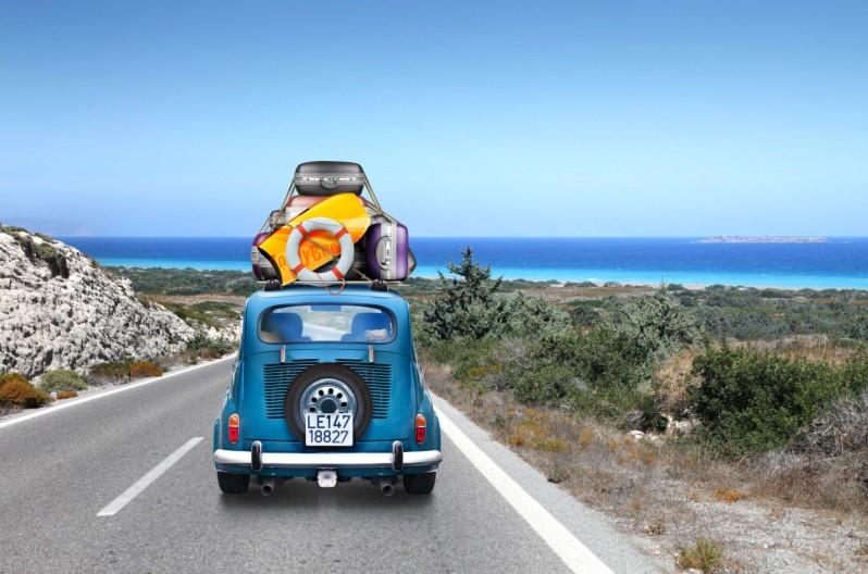 Путешествие на море на автомобиле