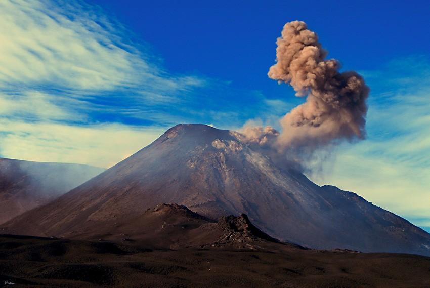 Великий вулкан Этна