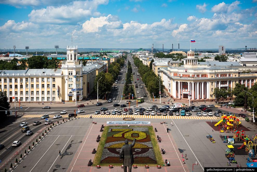 Городские парки и скверы в Кемерово