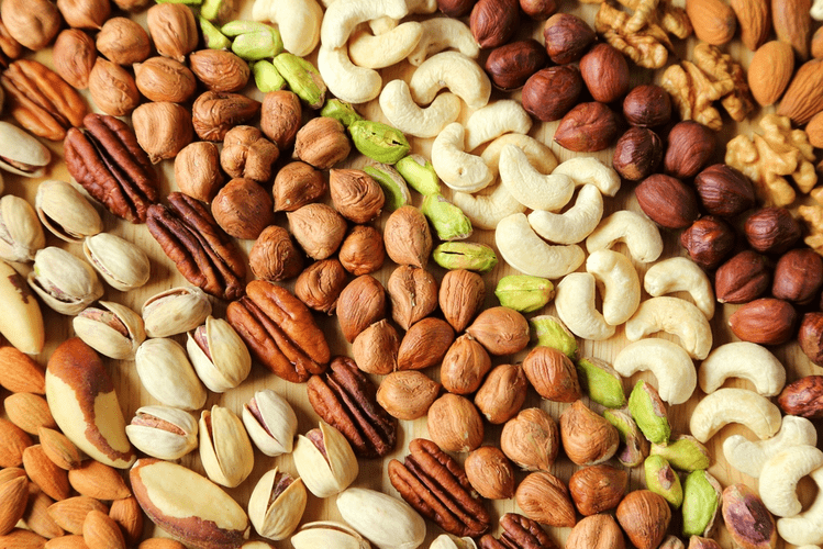Съедобные орехи - разновидности с названиями и описанием