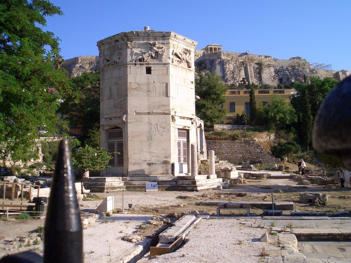 Башня ветров в Афинах - история и архитектура достопримечательности