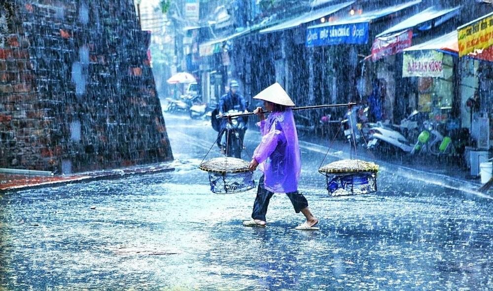 Сезон дождей в городах Вьетнама
