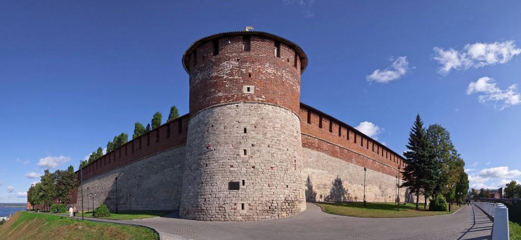 Белая башня в Нижегородском Кремле - история, описание