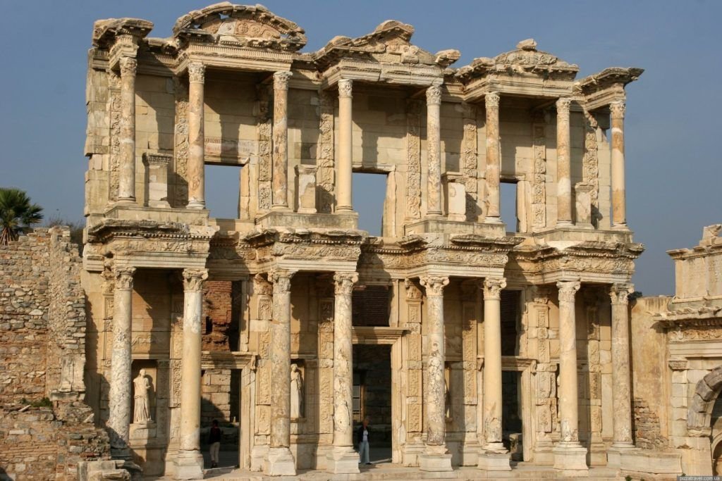 Библиотека Цельса в Эфесе - история, описание, как добраться