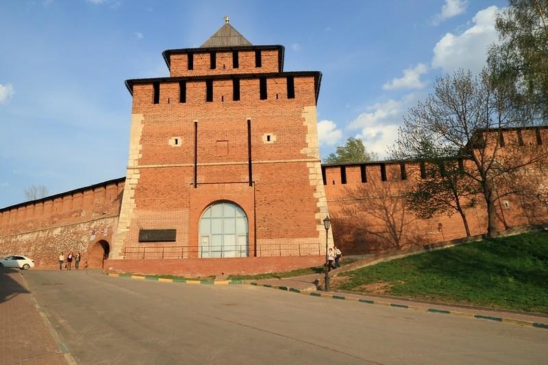 Башня Ивановская - история, описание, расположение