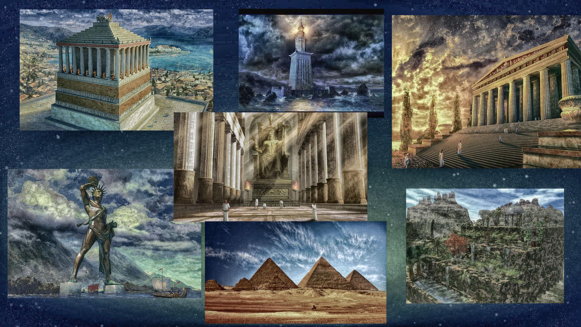10 чудес света всего мира