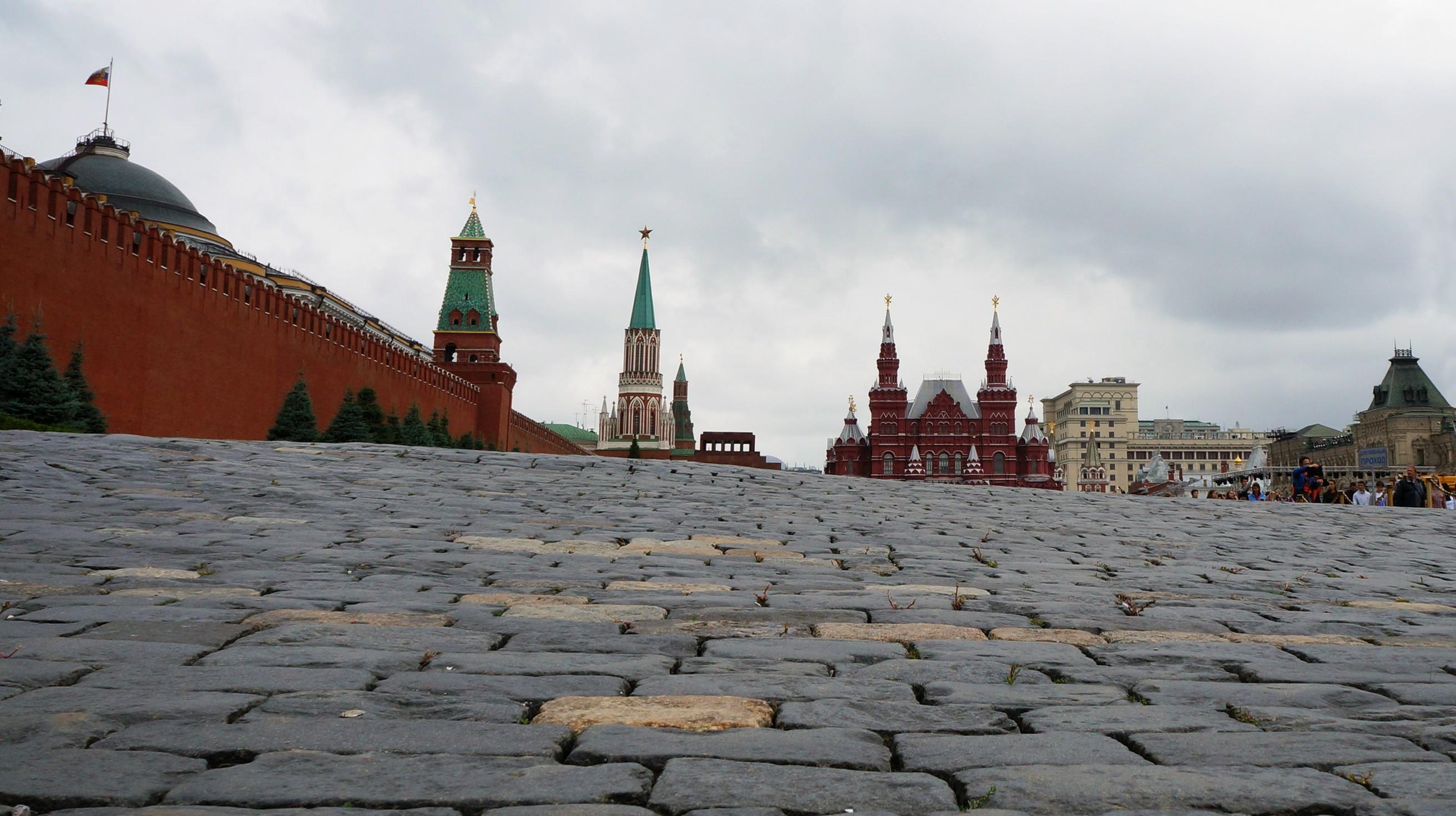 Брусчатка на Красной площади