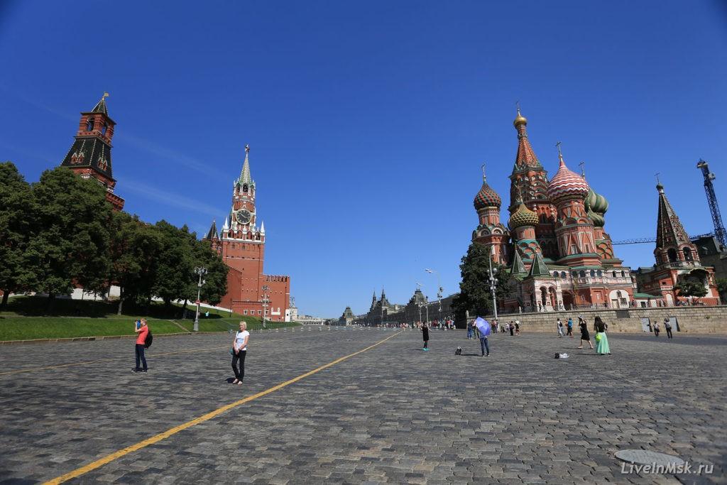 Москва красная площадь фото