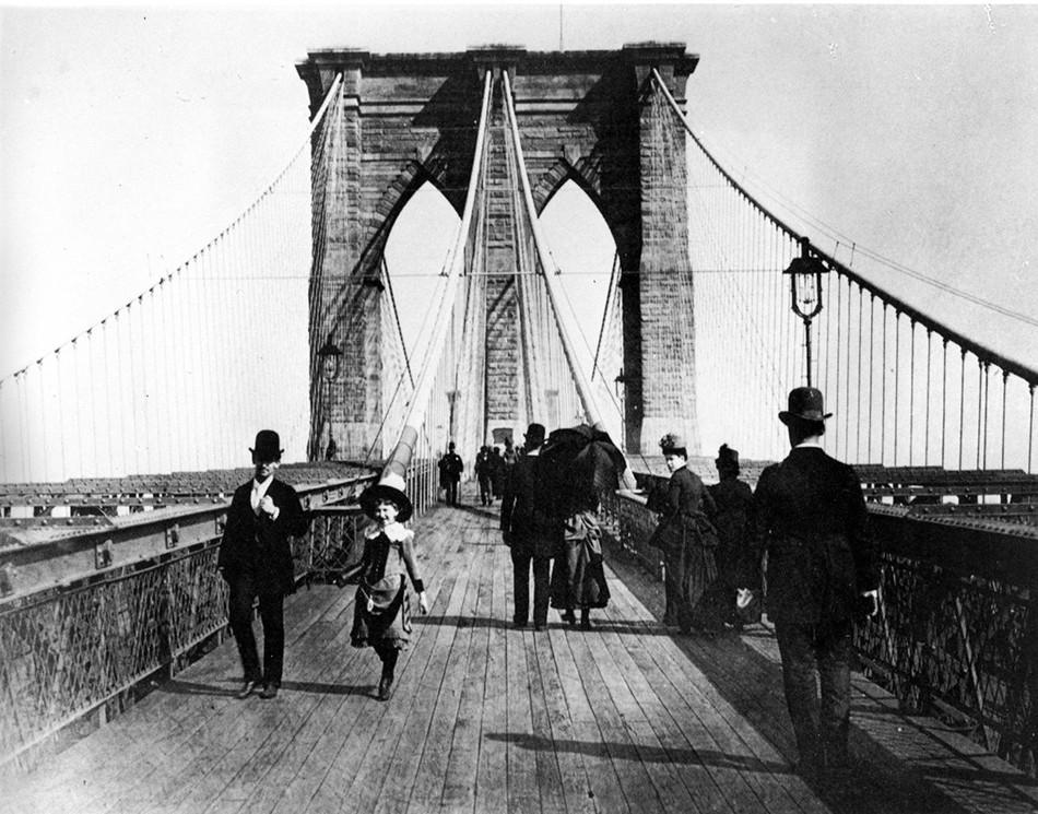 Бруклинский мост 1883