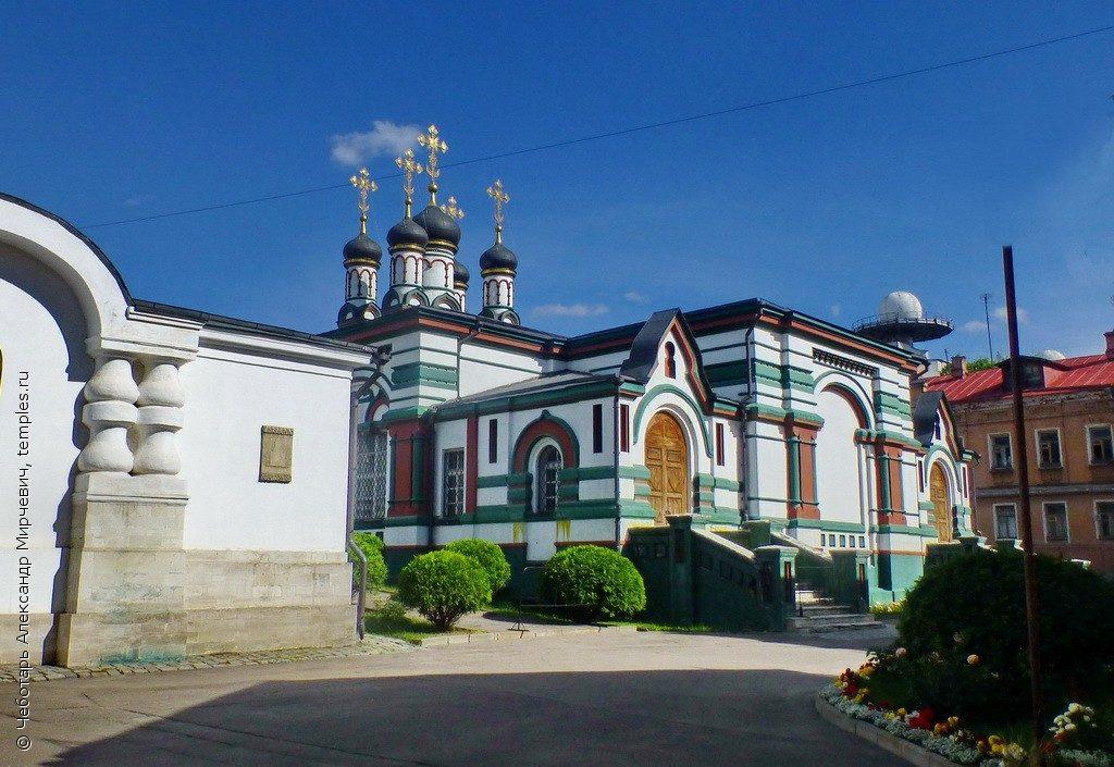 церковь Иоанна Златоуста в Москве
