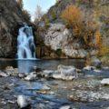 Беловский водопад в Новосибирской области