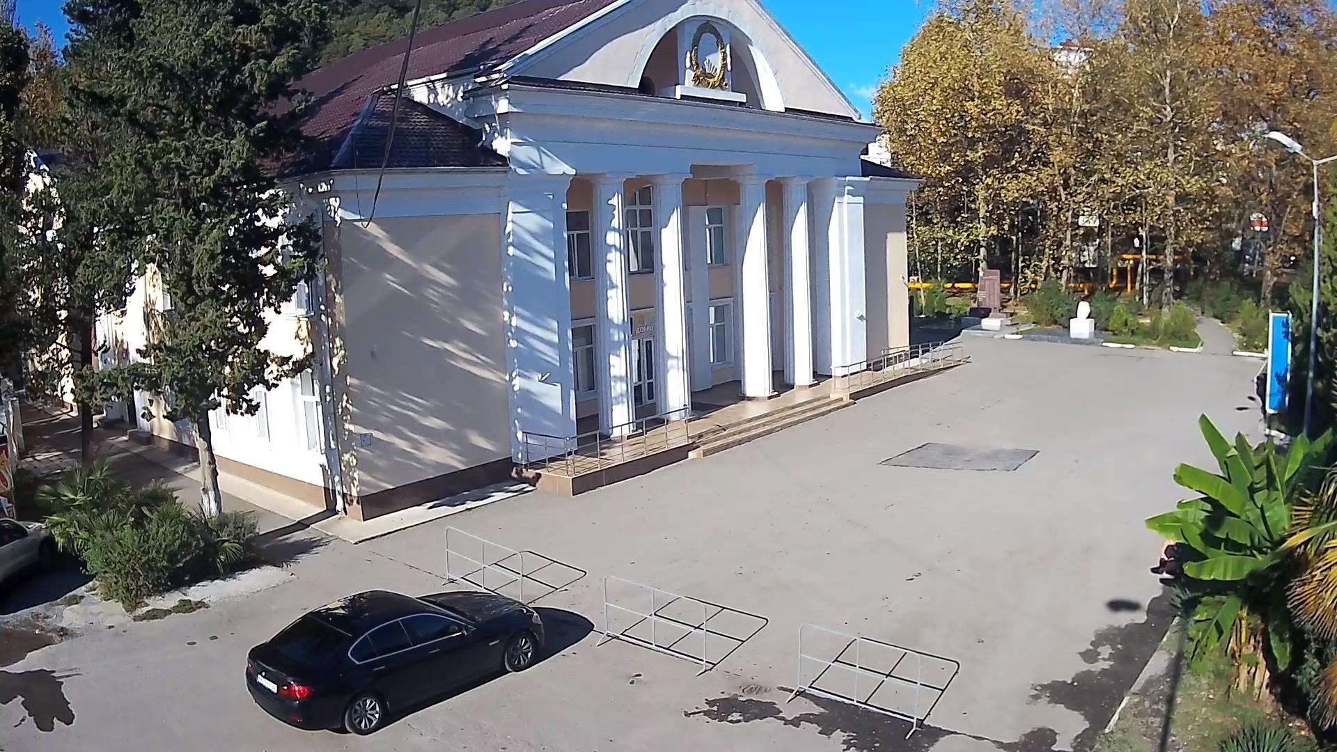 Вебкамера в Дагомысе, площадь «Дом культуры»