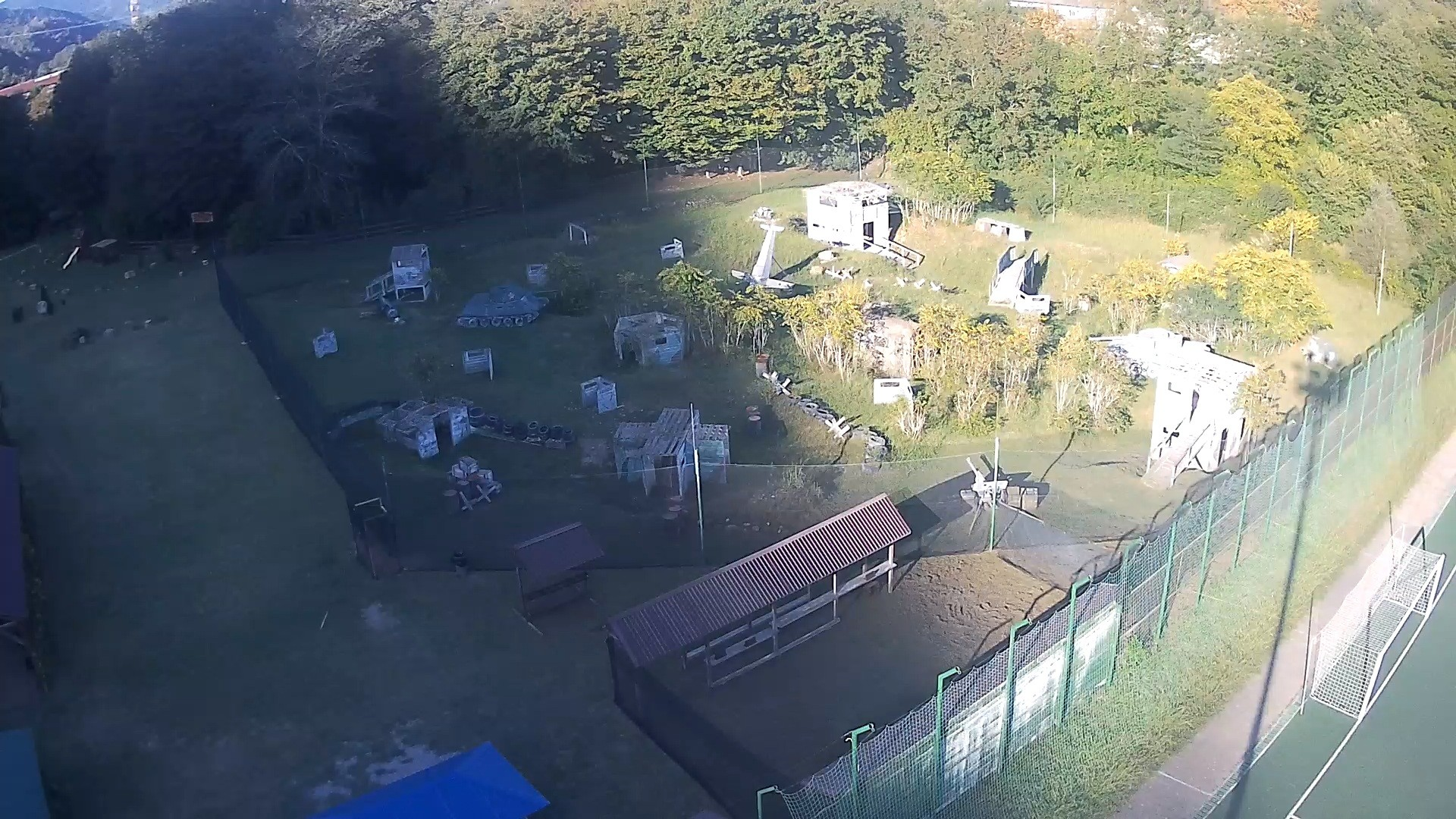Вебкамера в пейнтбольном парке «Дагомыс», камера 2