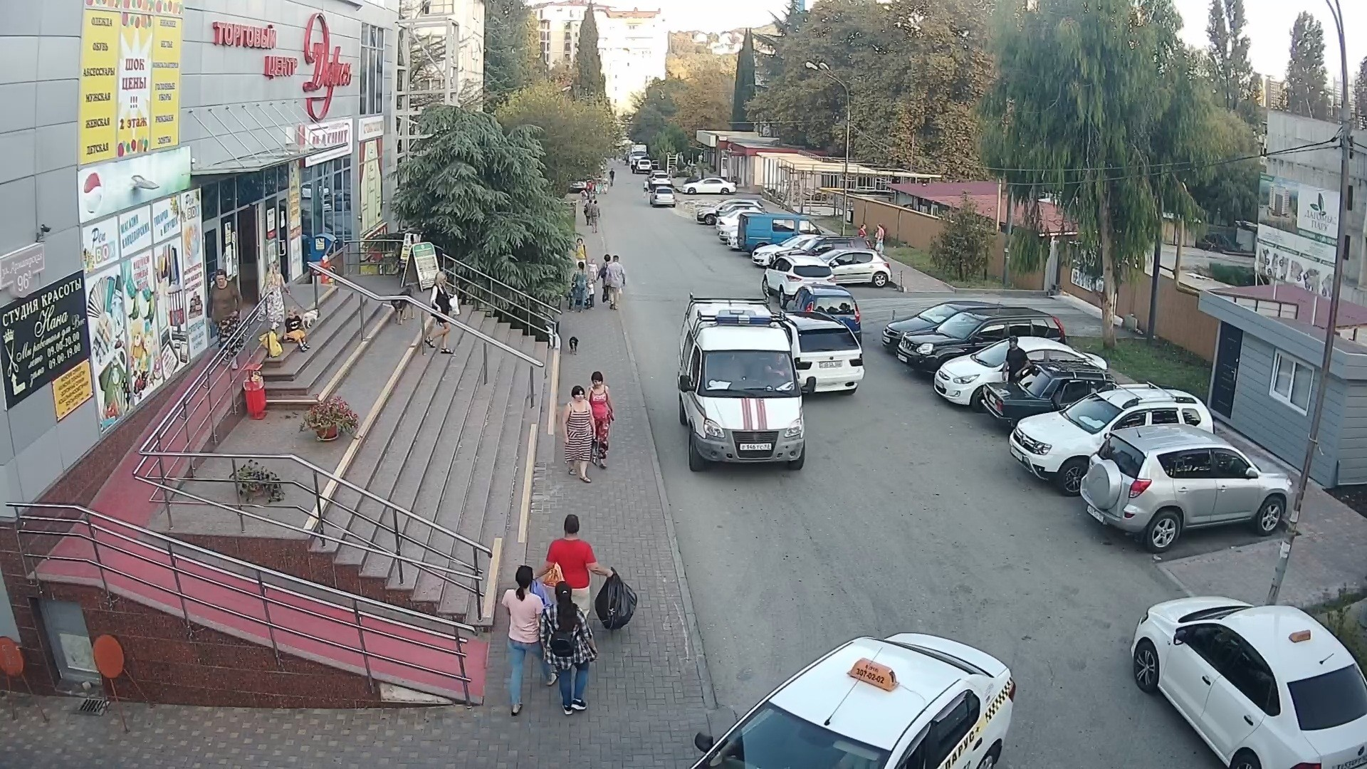 Вебкамера в ТЦ «Дарья» пос. Дагомыс