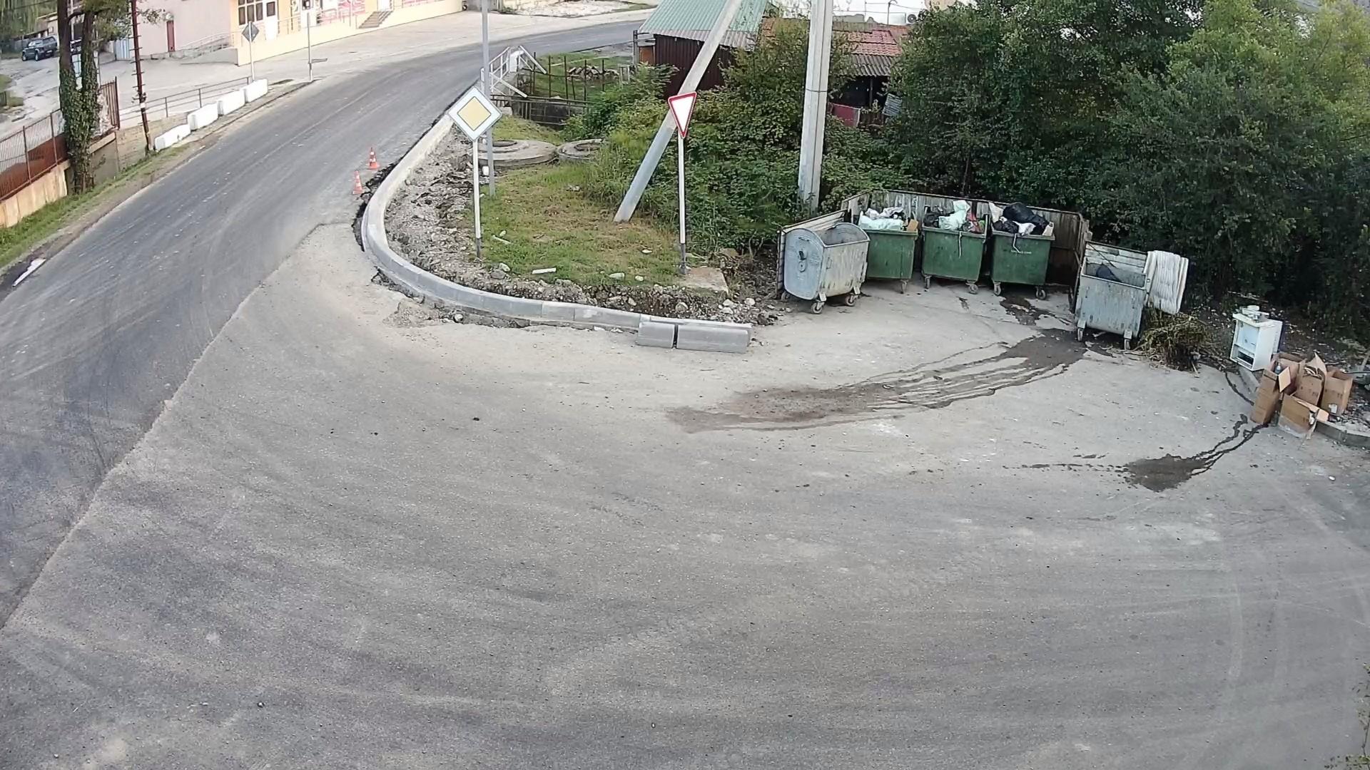 Вебкамера в пос. Дагомыс, Барановское шоссе, «Питомник» камера 3