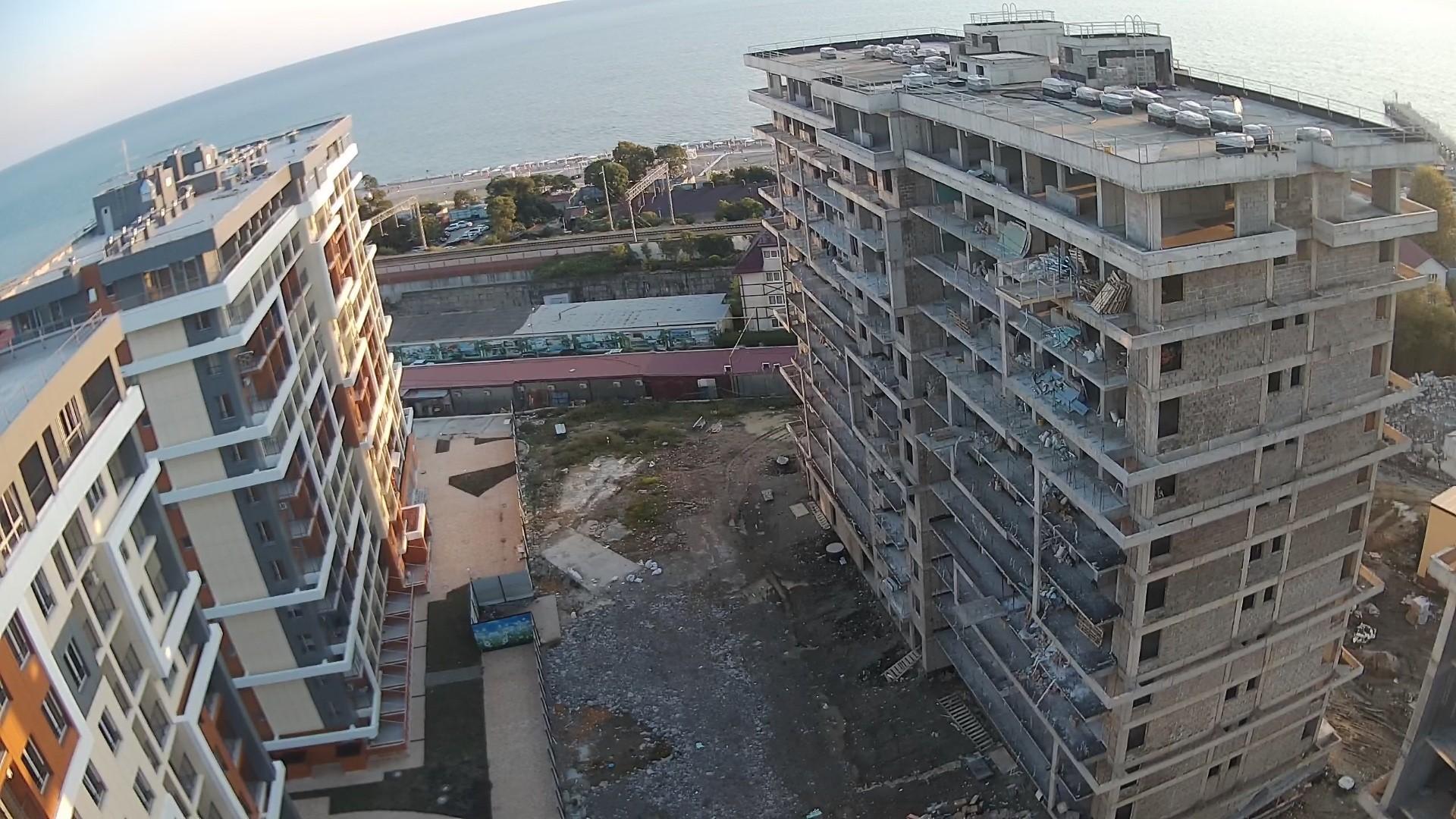 Вебкамера в ЖК «Каравелла Португалии» пос. Дагомыс, стройплощадка камера 2