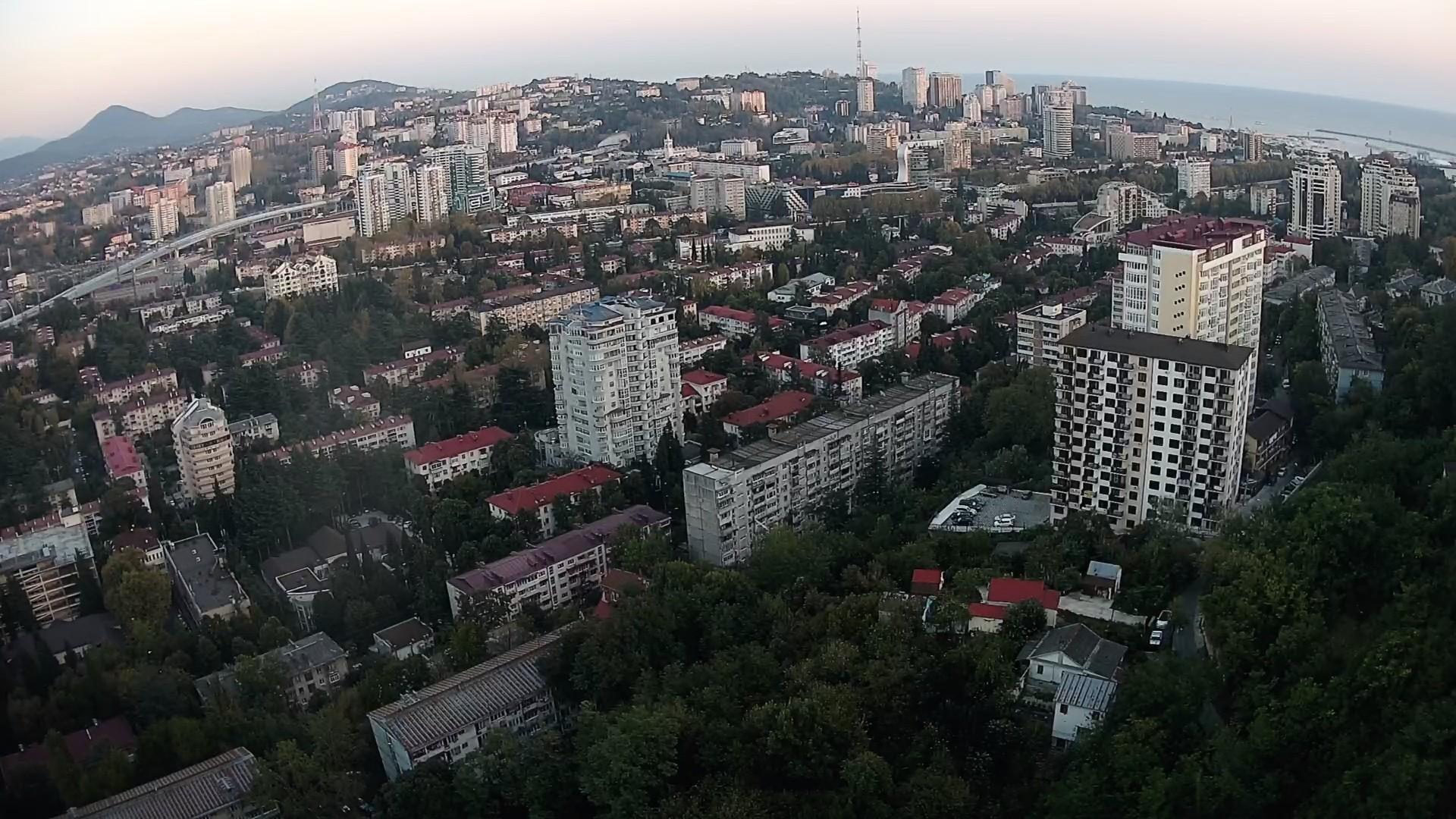 Вебкамера на ул. Виноградная г. Сочи, панорама
