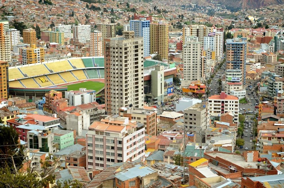 Город Ла-Пас