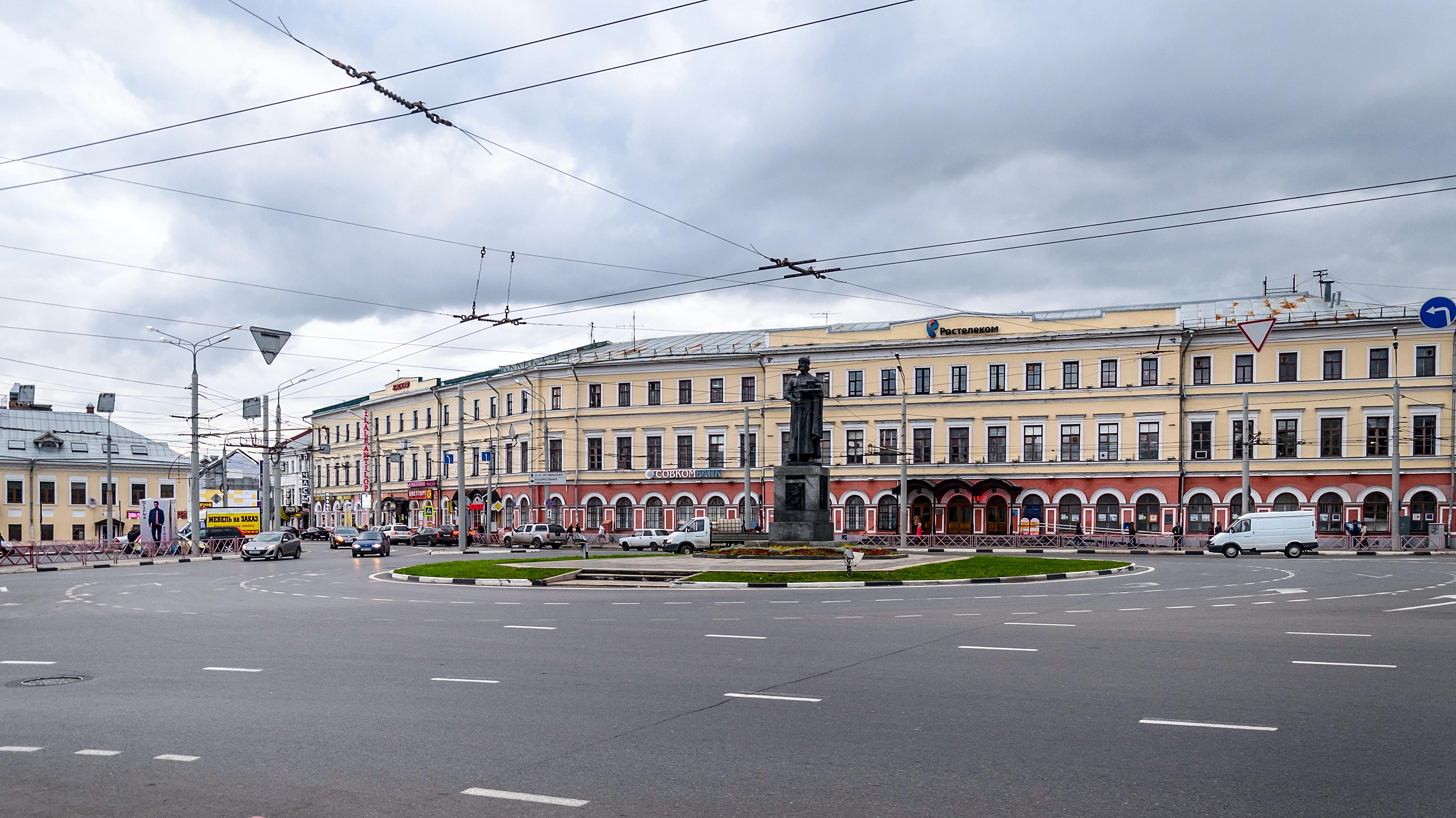Богоявленская площадь в Ярославле