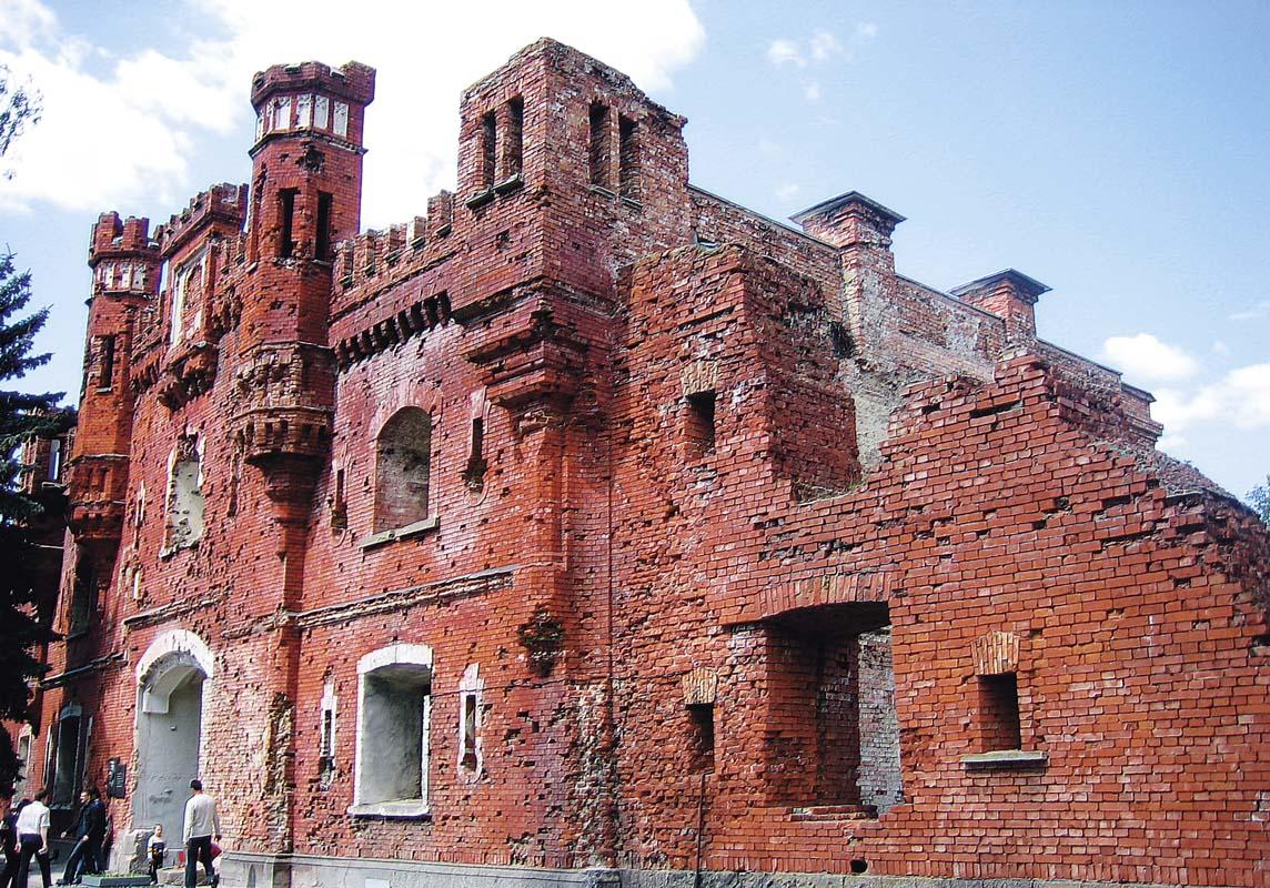Брестская крепость - история, описание, расположение
