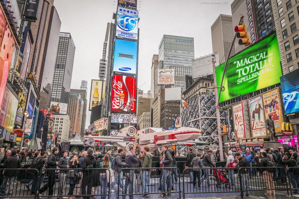 Бродвей Нью-Йорк фото