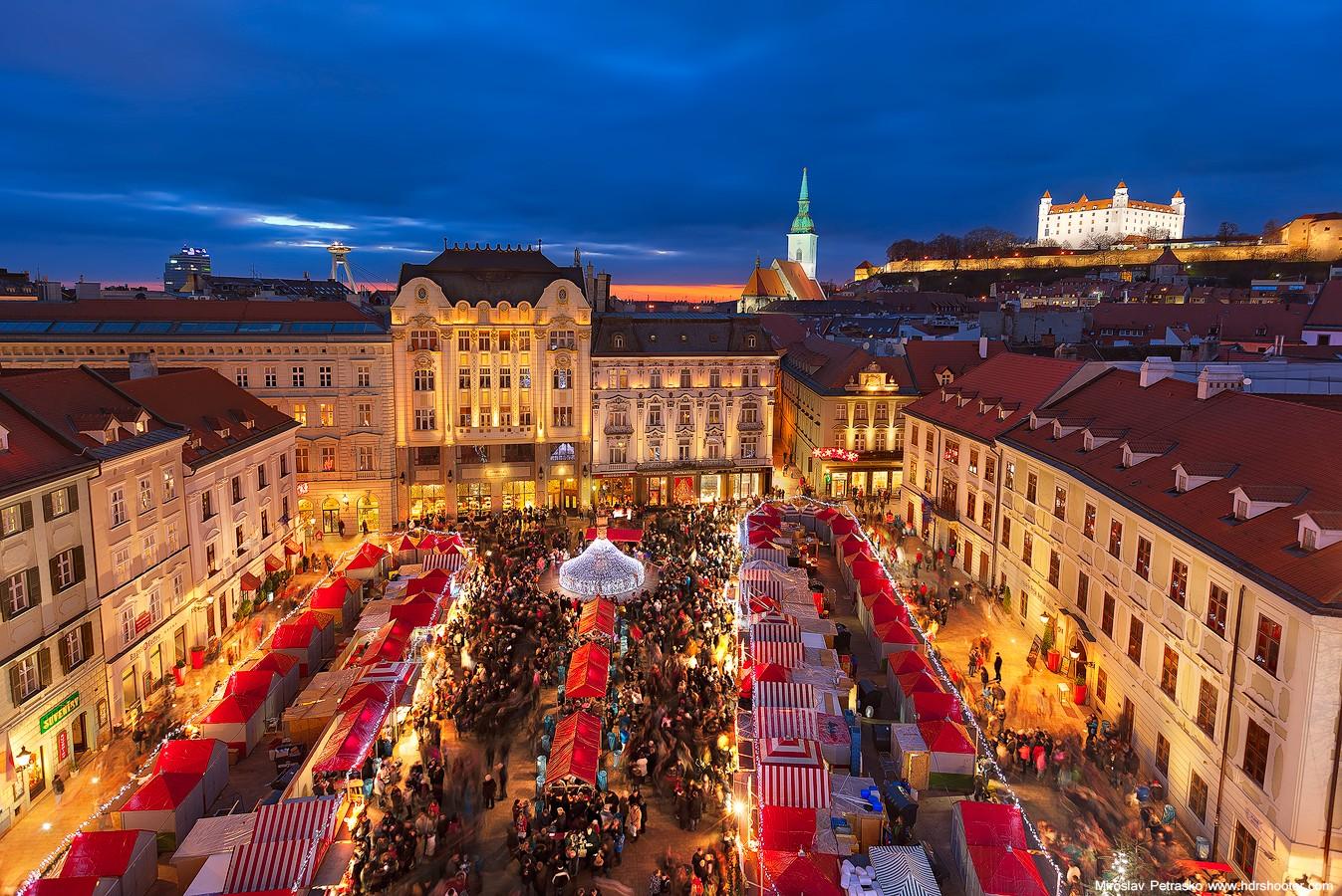 Нужна ли виза россиянам для въезда в Братиславу?