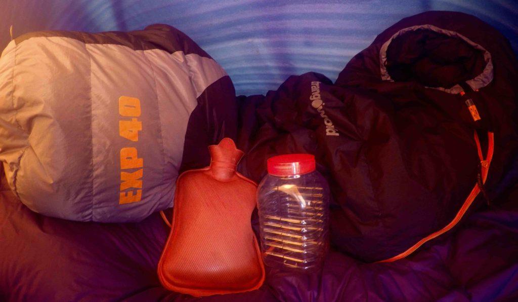 Грелка в палатку
