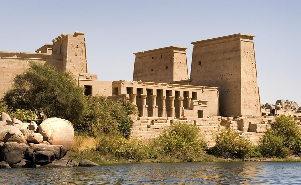 Храмы острова Филе