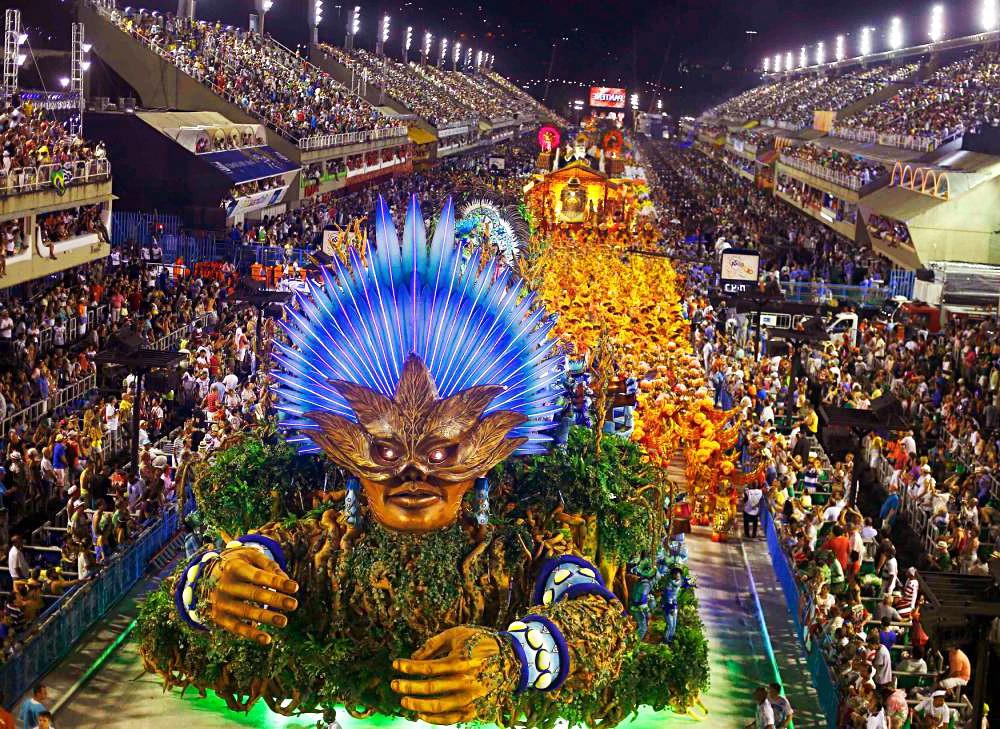 Рио-де-Жанейро Бразилия карнавал