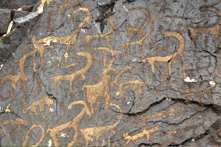 Бельдерсайские петроглифы