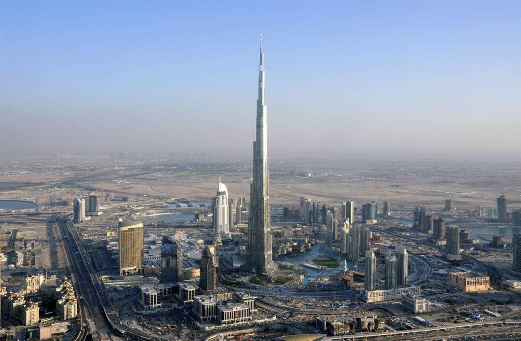 Дубай Бурдж Халифа фото
