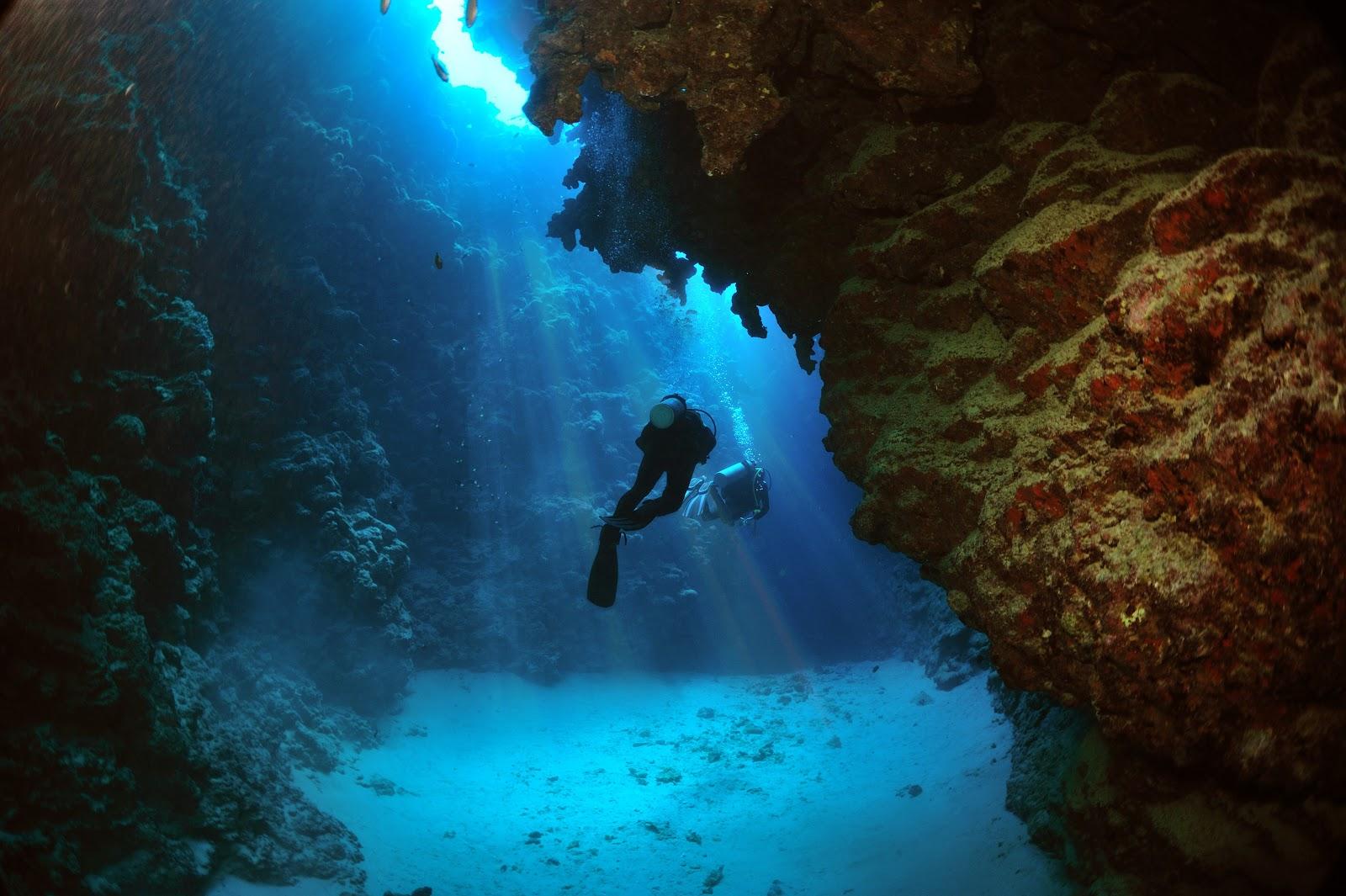 Голубая дыра в Дахабе