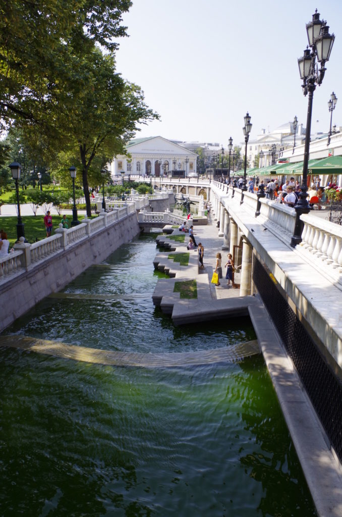 Река Неглинка в Москве