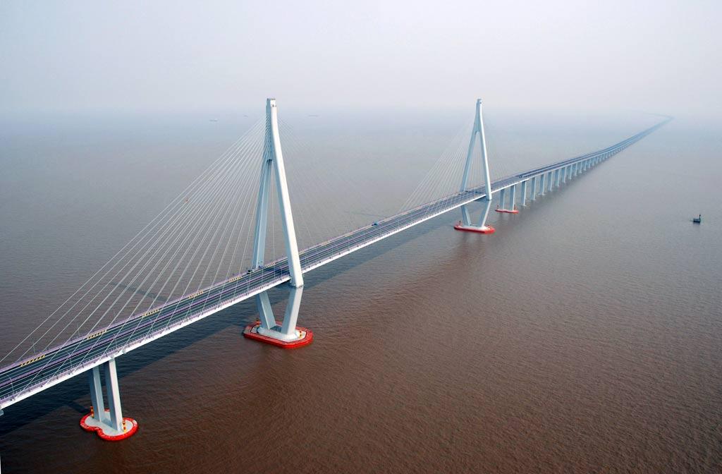 Мост через залив Ханчжоувань