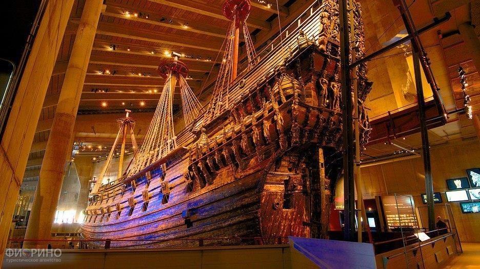 Музей-корабль Васа в Стокгольме