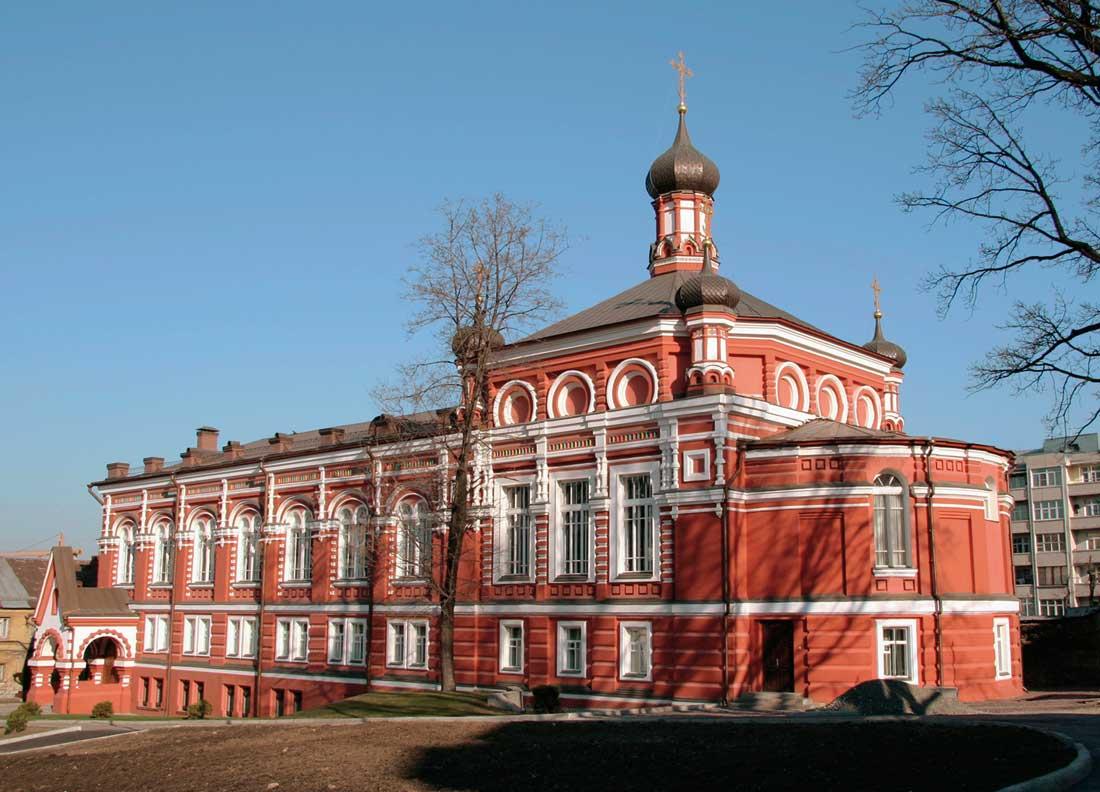 Богородице Рождественский монастырь в Москве