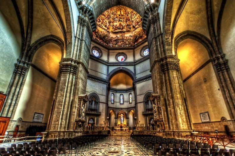 Санта-Мария-дель-Фьоре изнутри